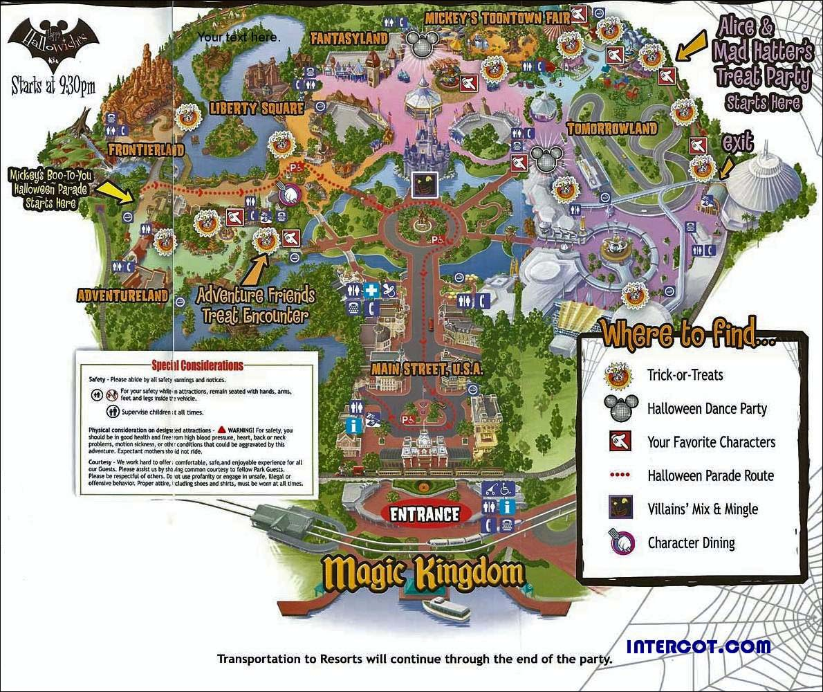 The best of mickeys not so scary halloween party 2010 guru travel consult the park map gumiabroncs Gallery