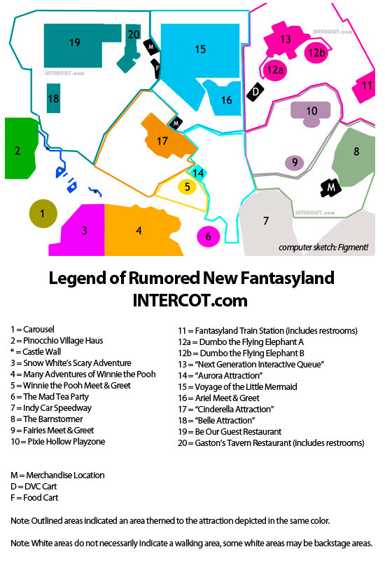 walt disney world map 2009. This map has been sketched to
