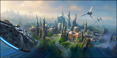 Star Wars Land Announced for Disneyland & Walt Disney World