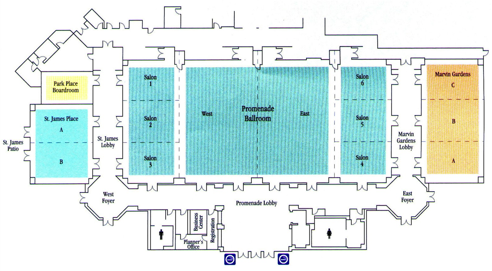New Look  Resort Hotel Maps Photo  Of  Las Vegas Maps Top - Florida mall map