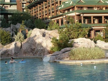 Wilderness Lodge ResortWilderness Lodge Pool Slide
