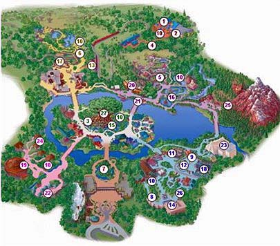 Exceptional Animal Kingdom Map