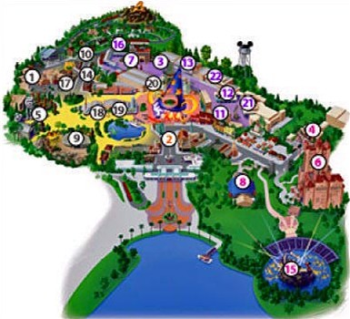 walt disney world map 2009. Disney#39;s Hollywood Studios Map