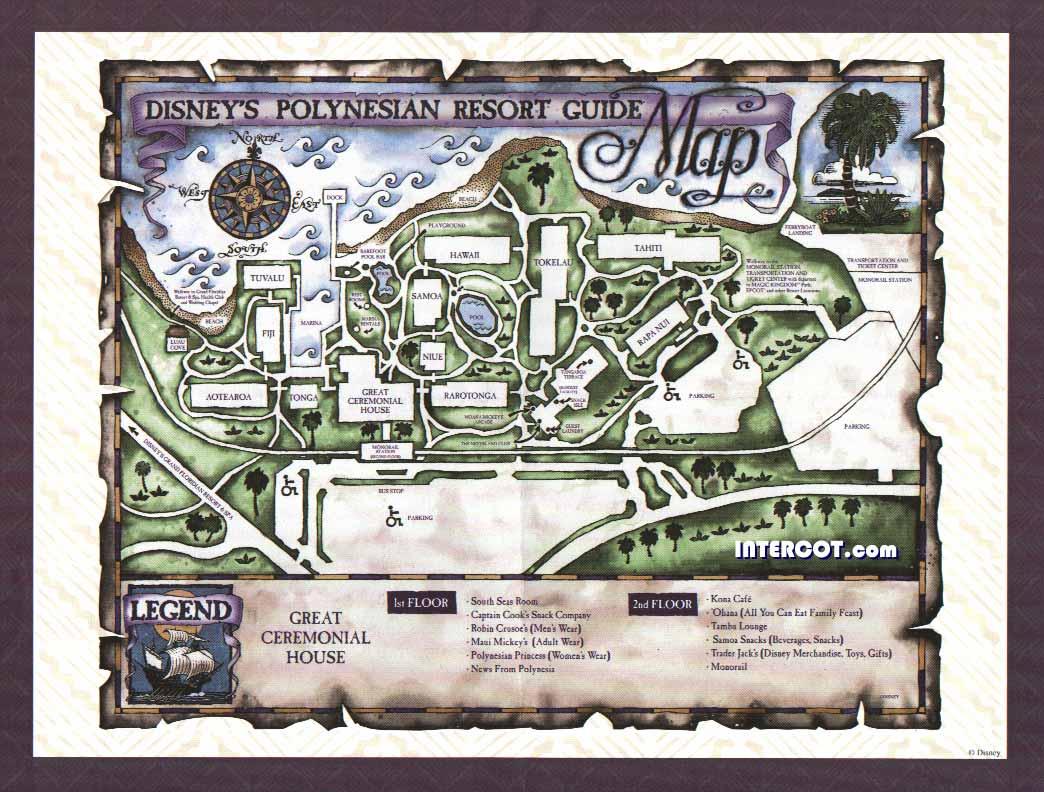 The Intercot Resort Property Map